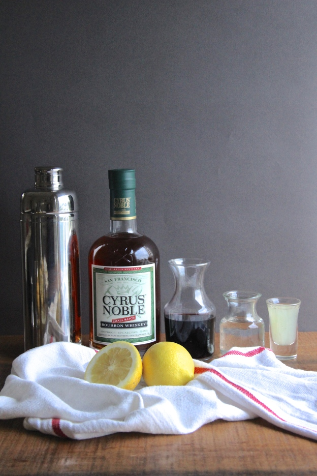 New York Sour Cocktail