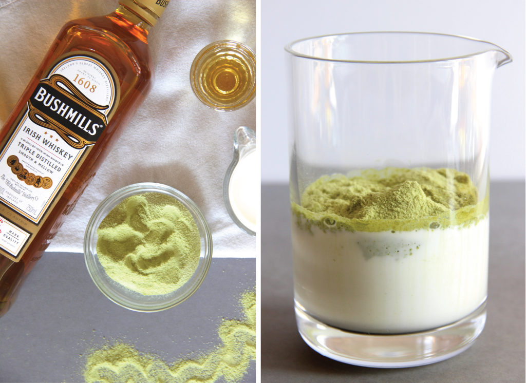Matcha Whiskey Cocktail // The Shared Sip