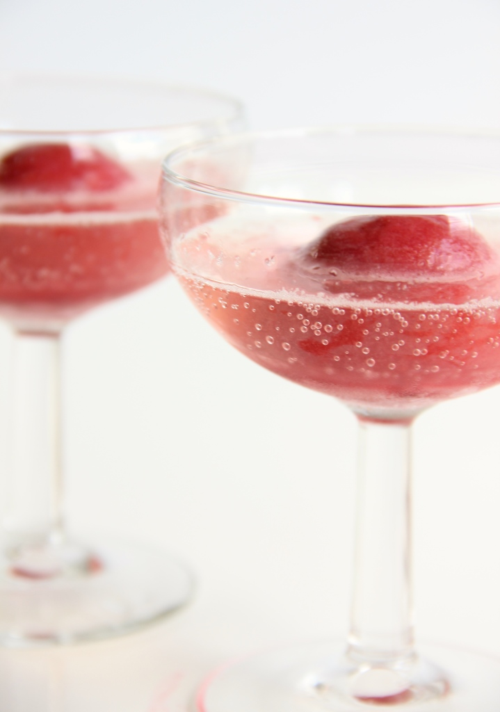 Raspberry Sorbecco // The Shared Sip