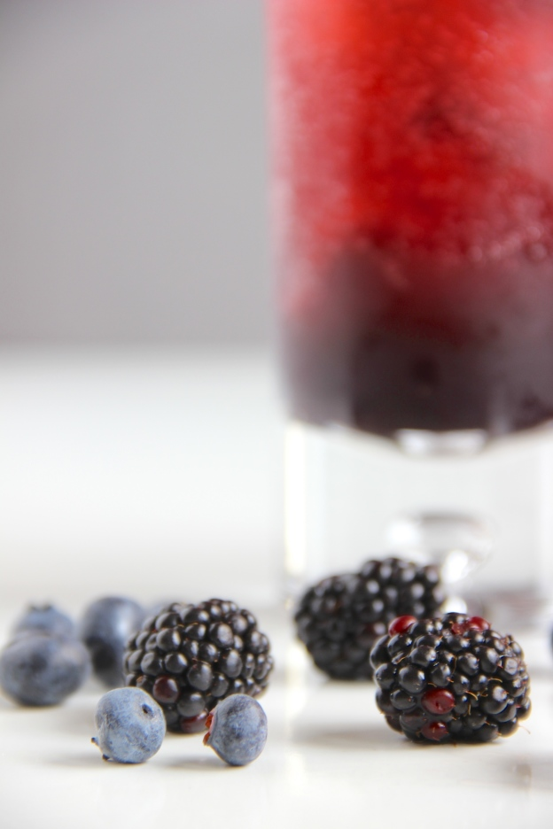 Berry Bourbon Bramble // The Shared Sip