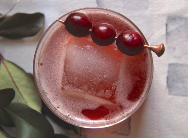 Holiday Cranberry Boulevardier // The Shared Sip