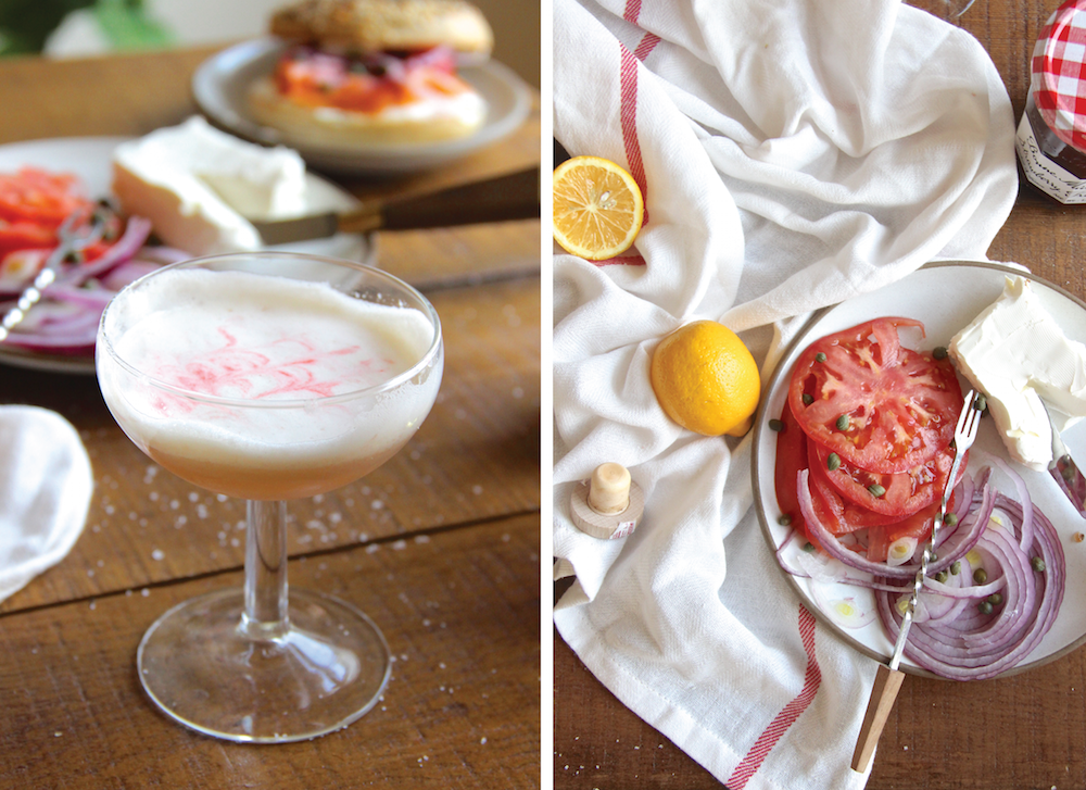 Russ and Daughters Breakfast Martini // The Shared Sip