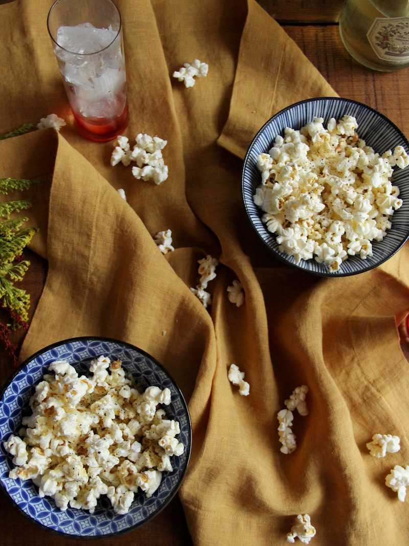 Cacio e Pepe Popcorn + Sbagliato // The Shared Sip