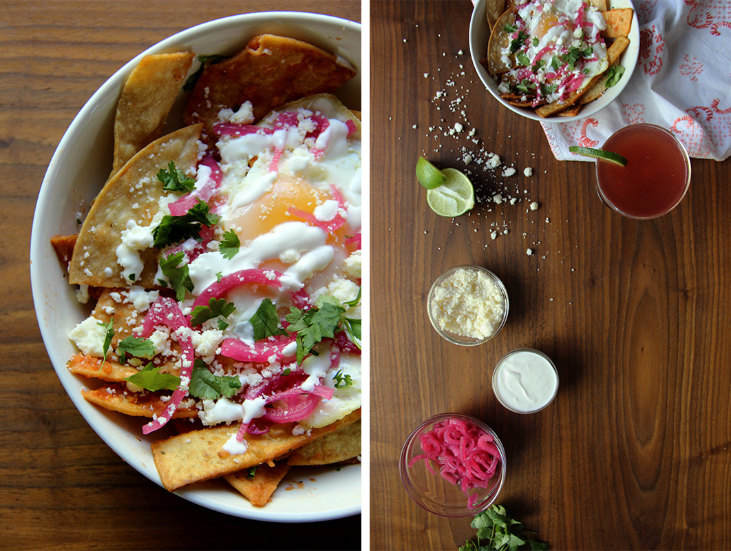 Chilaquiles for Two + The El Diablo // The Shared Sip