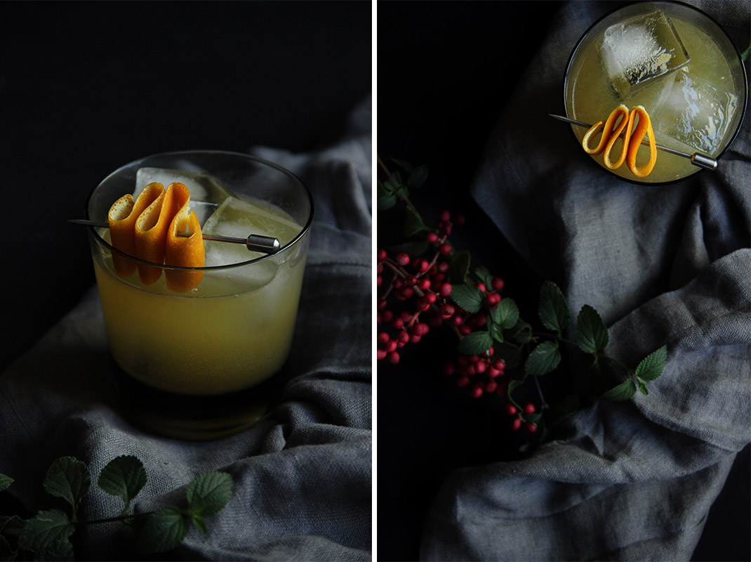 Fields of Gold Cocktail // The Shared Sip