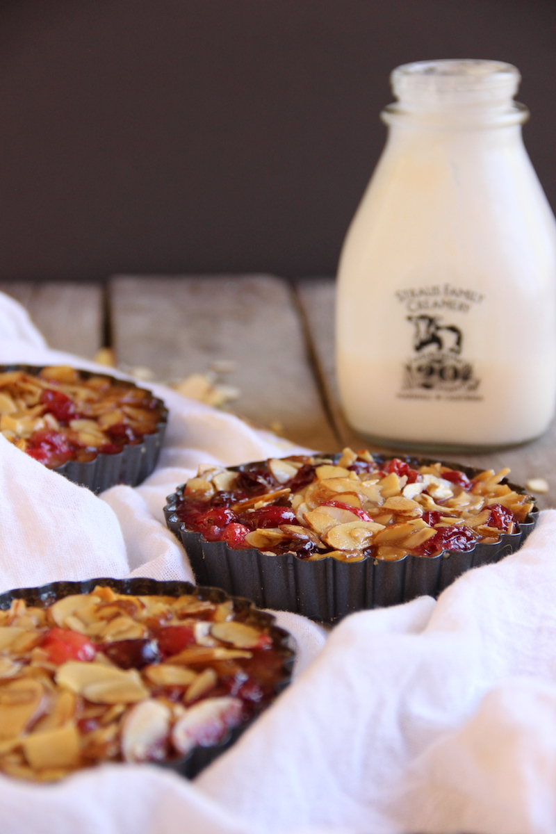 Cranberry Bourbon Tart // The Shared Sip