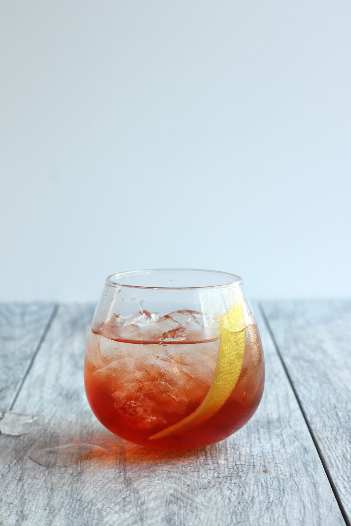Rivington Punch // Classic white wine spritz jazzed up with rosé, St. Germain, Aperol and raspberry liqueur - the perfect summer cocktail! // The Shared Sip