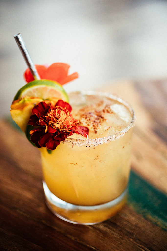 Spicy Pineapple Margarita // The Shared Sip