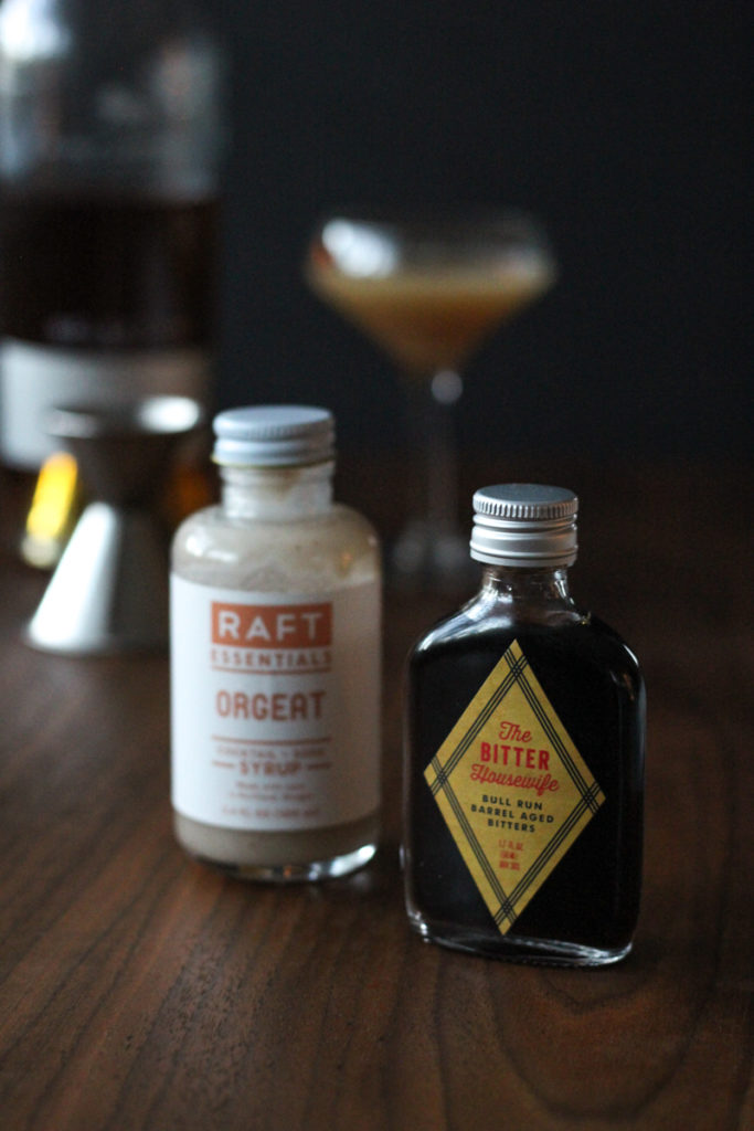 Japanese Cocktail // Cognac, Orgeat and Bitters // The Shared Sip