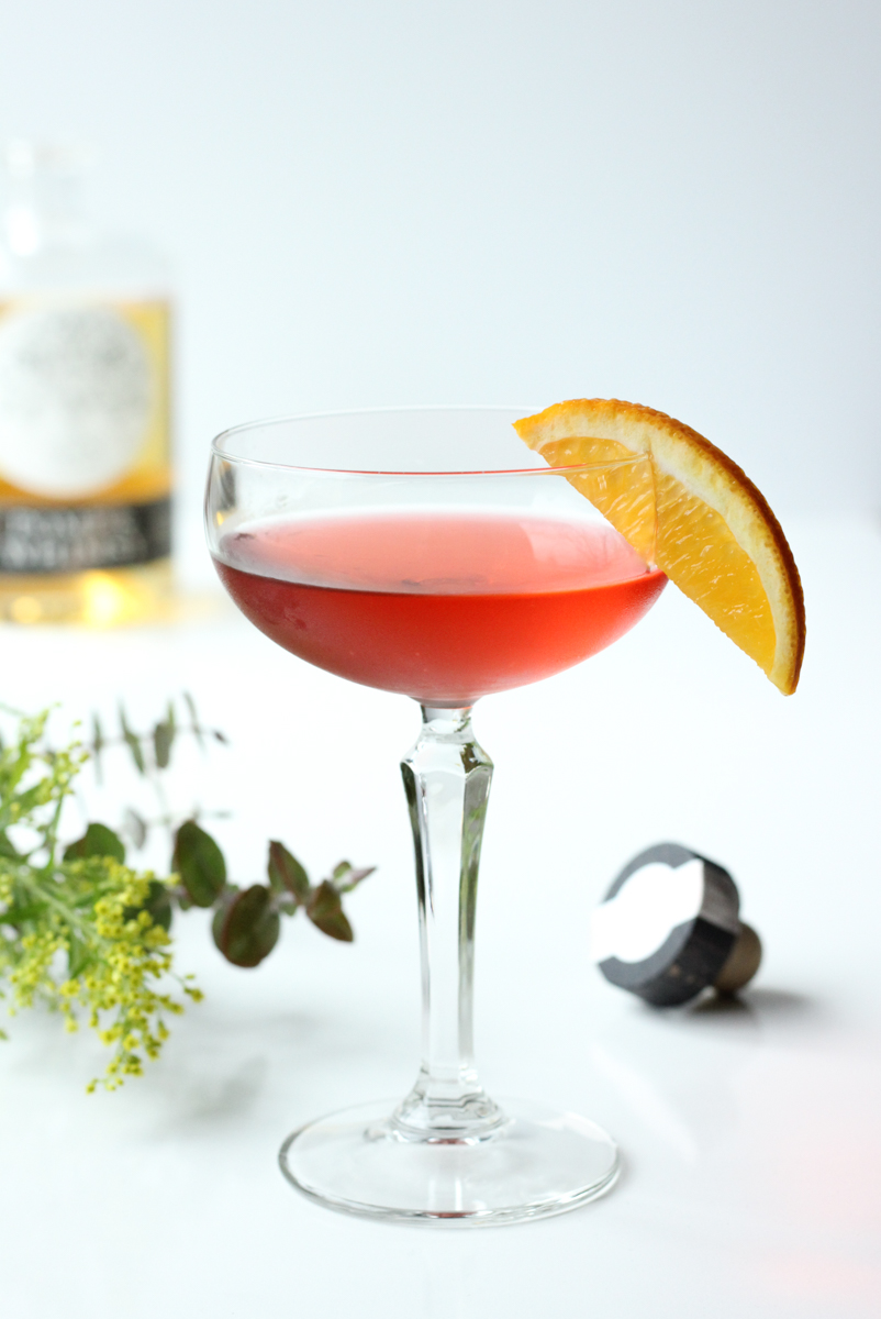 Pomp + Whimsy Negroni // A cocktail made with gin, gin liqueur, and campari // The Shared Sip